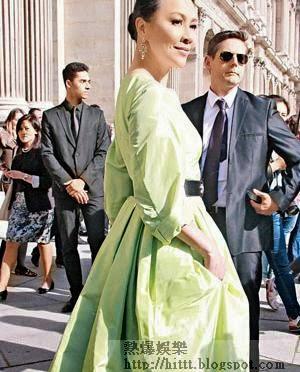 嘉玲被問到會否在巴黎趁機拓展商機時,認為做生意包括入股新品牌要講緣分。