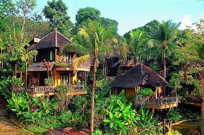 ห้อง Upper Hill Cottage ของ the spa resort เกาะช้าง