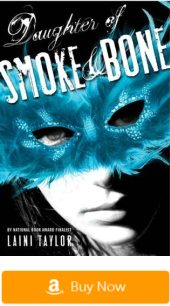 Books like the Fault in our Stars: Daughter of Smoke and Bone