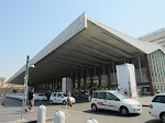 Roma Termini, where the Leonardo Express dropped us off from the airport