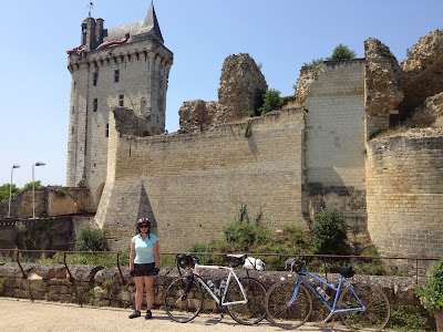 French village diaries cycling Loire Tours to Saumur