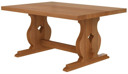 Bordeaux Dining Table in Natural Cherry