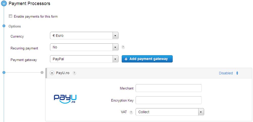 123ContactForm - PayU Integration