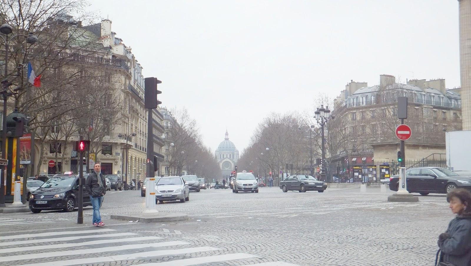 Boulevard de La Madeleine, París