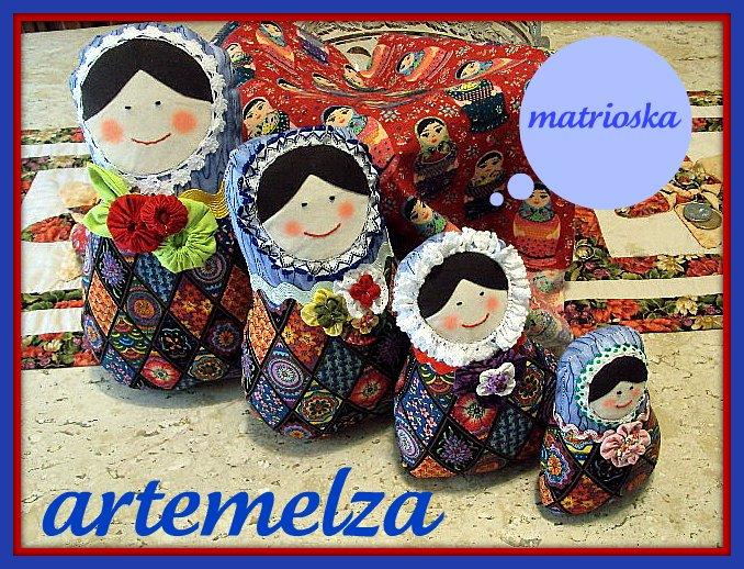 artemelza - boneca matrioska