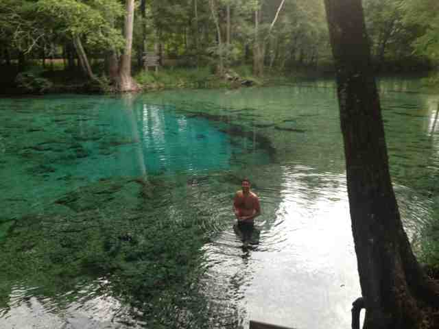 Crystal Lake Vw >> Yellow Vanagon: Ginnie Springs: crystal clear water and tubing with alligators