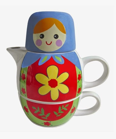Russian Doll Tea For One