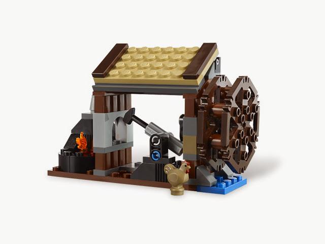 6918 レゴ キングダム 鍛冶屋しゅうげき