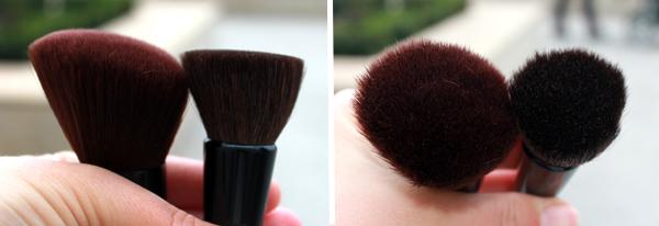Kirkland - Contour Kabuki and Flat Top brushes