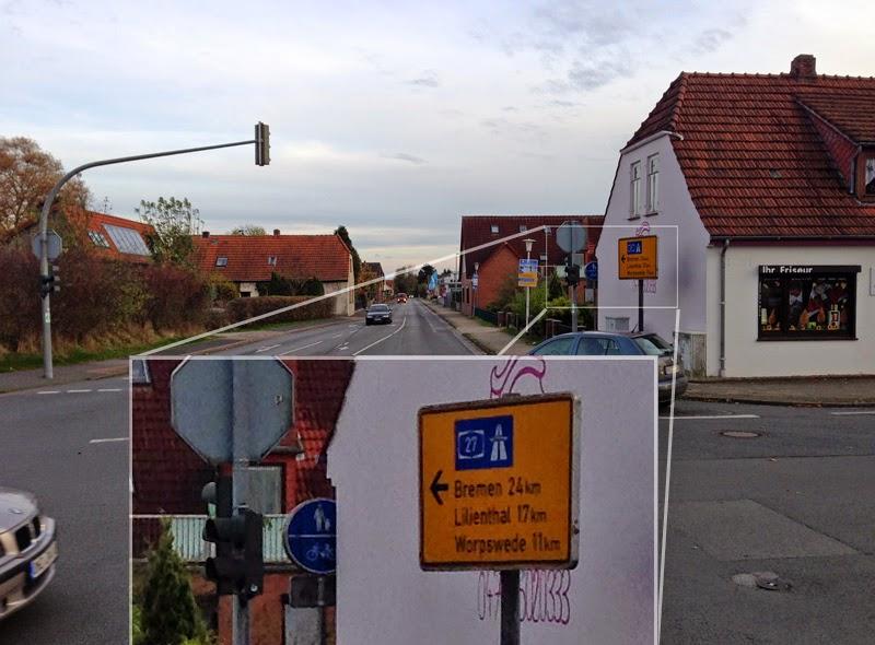 Kreuzung Heidkampstr./Bremer Str. in Osterholz-Scharmbeck