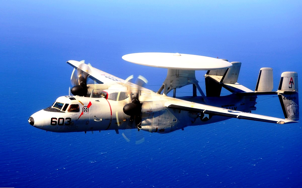 E-2 Hawkeye Aircraft Wallpaper 4