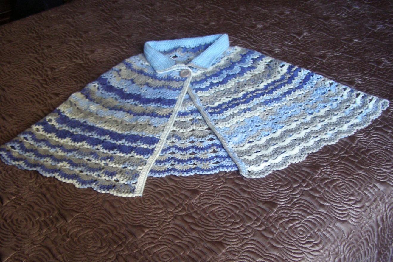 A punto de red toca ma anita a crochet en tonos matizados - Toca de ganchillo ...