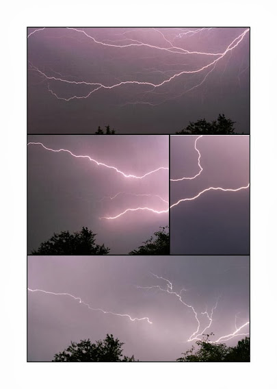 Lightning over Victoria BC - July 13, 2012 (photos by Sarah Lund)