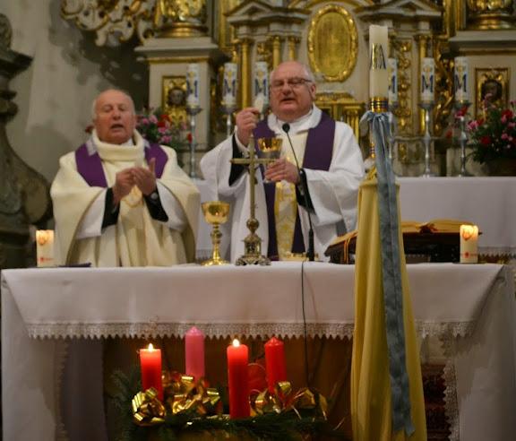 Podczas Mszy Świętej