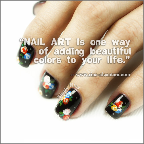 Nail Art Quote Picture No.2