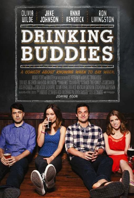 Poster Of English Movie Drinking Buddies (2013) Free Download Full New Hollywood Movie Watch Online At Alldownloads4u.Com