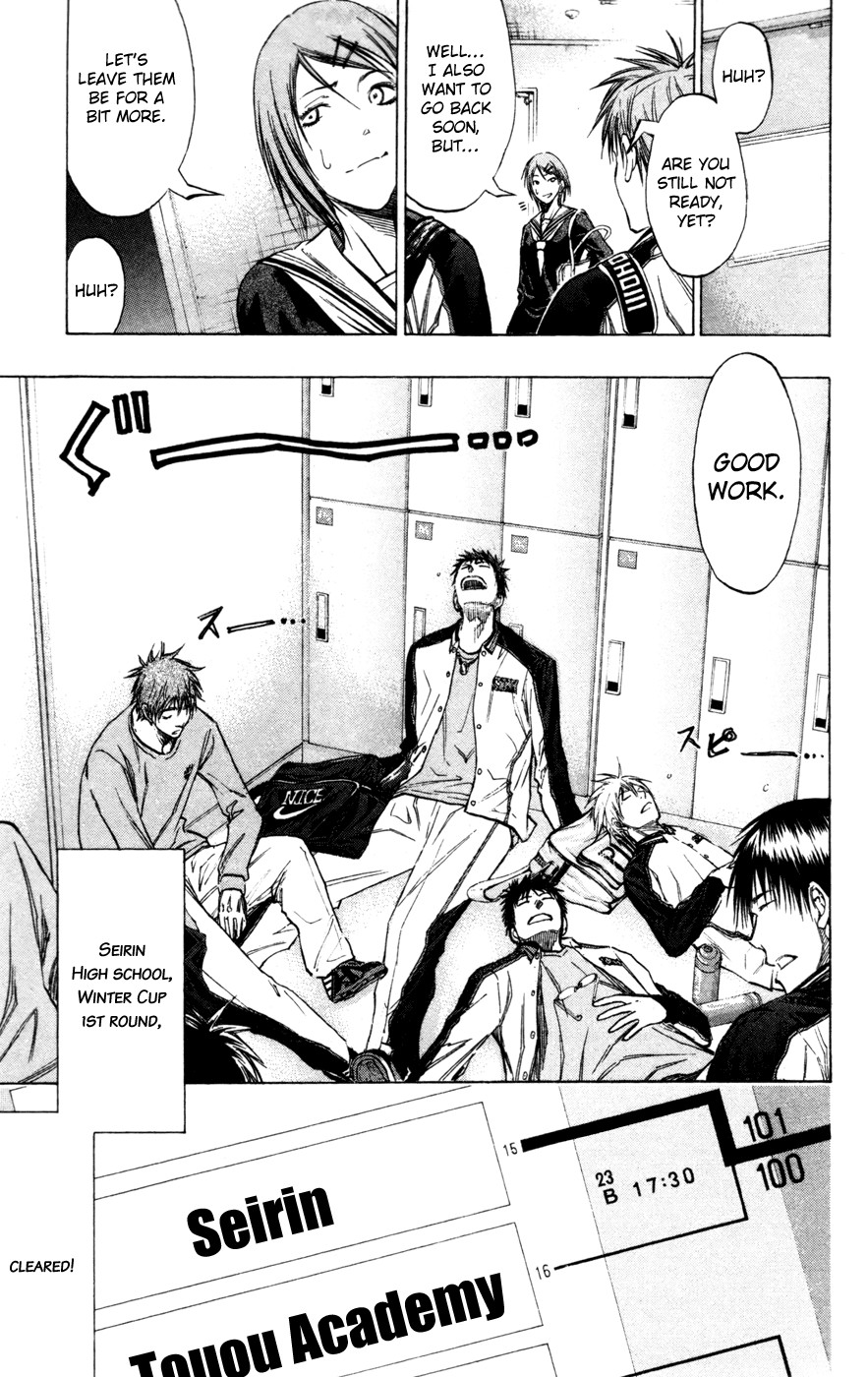 Kuroko no Basket Manga Chapter 139 - Image 21