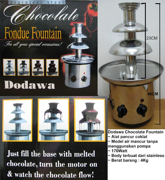 dodawa chocolate fountain