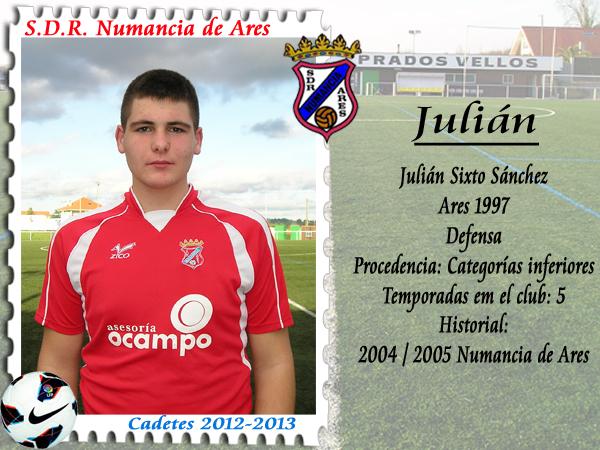 ADR Numancia de Ares. Julián.