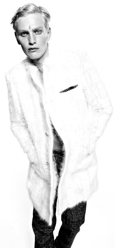 Gerhard Freidl by Simone Rivi for Maxim Italia October 2011.  Styled by Salima Arfoudi.