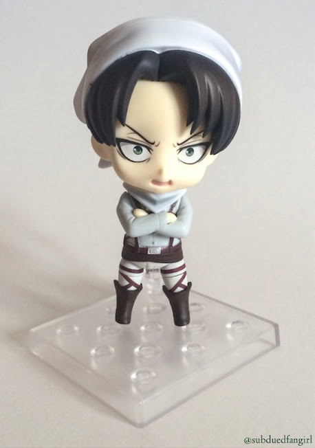 Nendoroid Levi Cleaning Ver. Review Picture 1