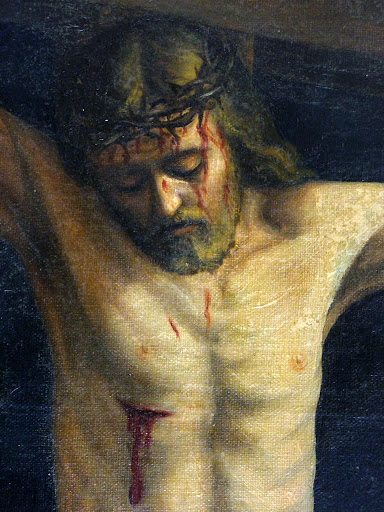 particolare della Via Crucis del Duomo