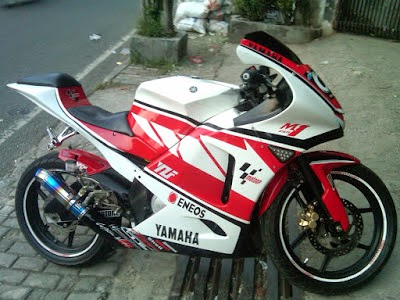 New Megapro Modifikasi Street Fighter