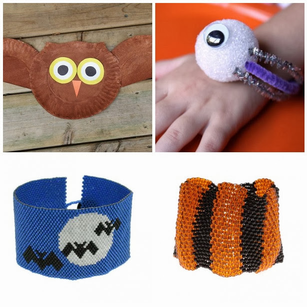 Halloween Jewelry and Craft Tutorials