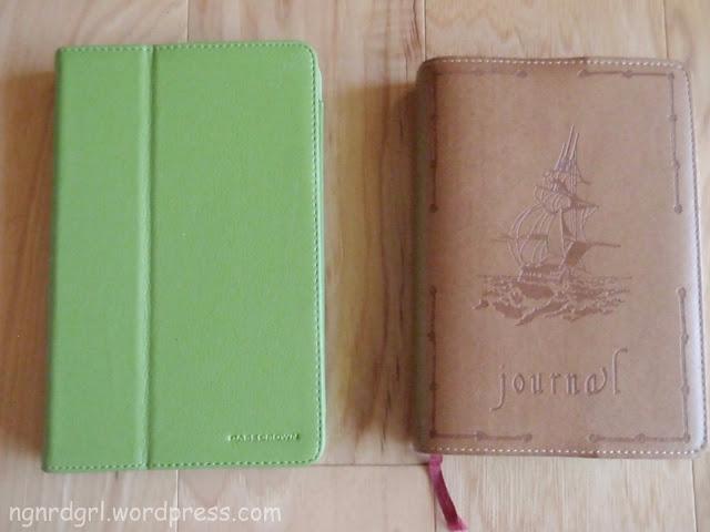 Kindle Fire vs Journal
