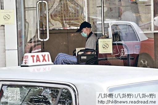 劉家輝入住護理安老院,獲全面照顧。