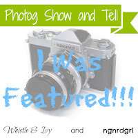 Photog Show and Tell - I was featured!!!