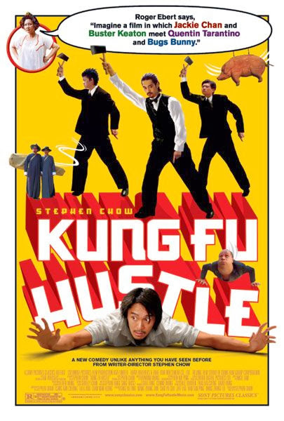 Poster Of Kung Fu Hustle (2004) Full Movie Hindi Dubbed Free Download Watch Online At Alldownloads4u.Com
