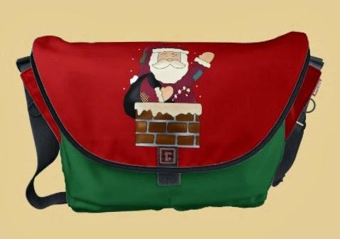 Inspiração: papai noel - bolsa motivo natalino