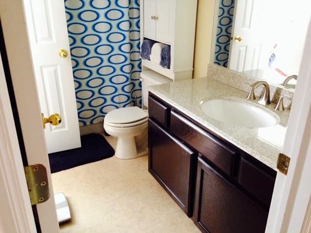 Bathroom Cabinet Remodel General Finishes Java Gel Stain