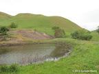 A pond along Nortonville Trail
