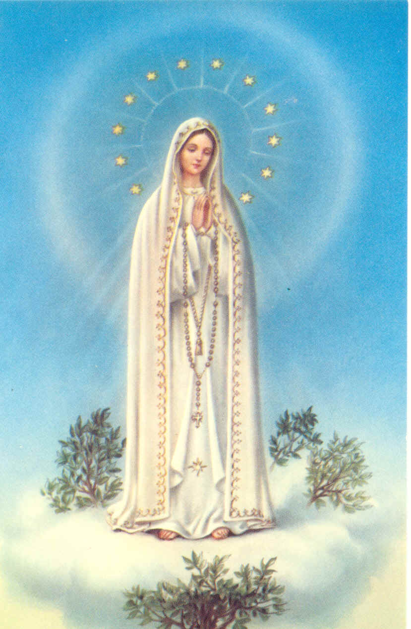 Our Lady of Fatima Icon http://hicatholicmom.blogspot.com/2011/03/beautiful-mother-our-lady-of-fatima.html