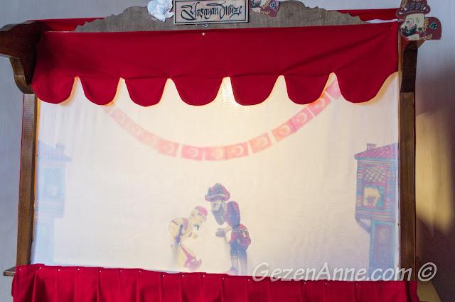 Yaşayan müzede Karagöz gölge oyunu, Beypazarı