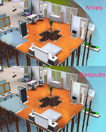Brillo dormitorio sims 3
