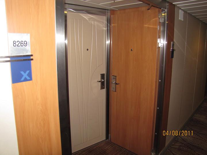 Connecting Rooms With Hallway Door On Solstice Class