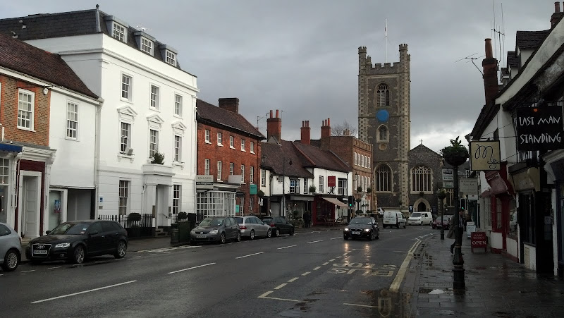 downtown Henley-on-Thames