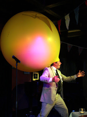 Emcee at Volupte cabaret show in London