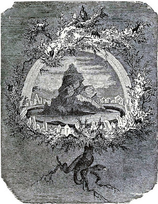 The Ash Yggdrasil by Friedrich Wilhelm Heine (1886)