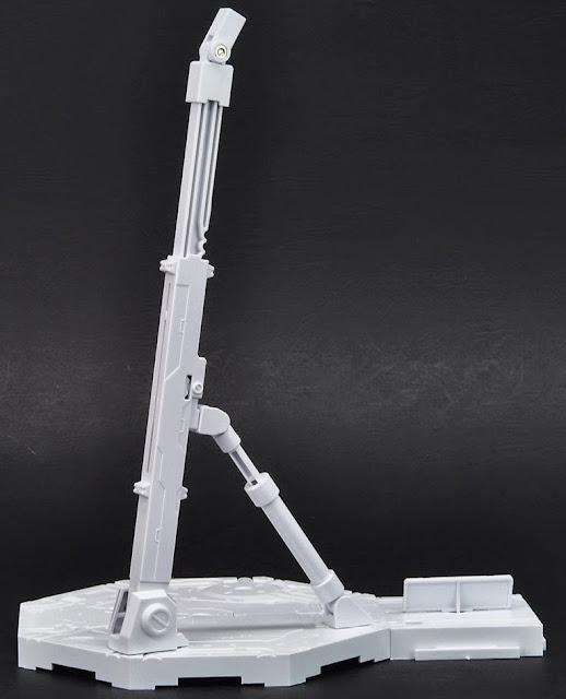 Giá đỡ mô hình Gundam hình lục giác Action Base 1 màu trắng có thể ghép nối thêm