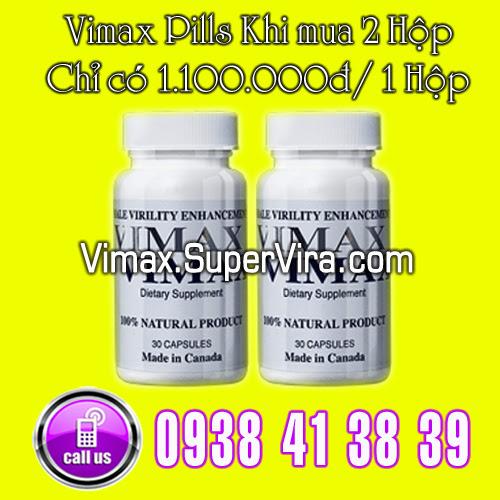 2 hộp Vimax Pills với giá chỉ còn 1.100.000đ/ 1 Hộp
