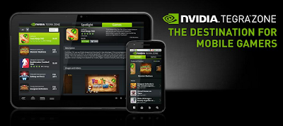 NVIDIA TegraZone app for android phones