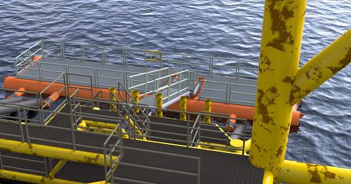 Floating boat landing visualization | feniks lab