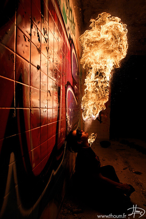 Stunning Fire Photography by Tom Lacoste