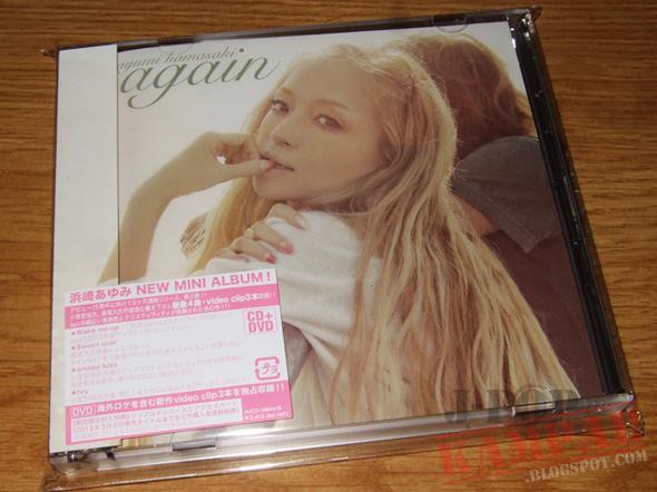 [CD Packaging] ayumi hamasaki - again
