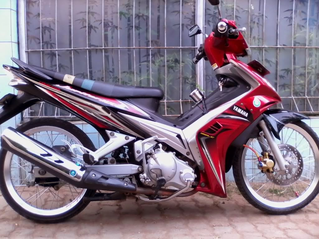 Gambar Modifikasi Motor Jupiter Mx New