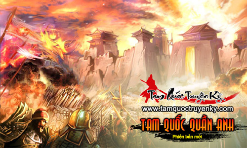 GameLandVN tặng 100 giftcode Tam Quốc Quần Anh 3